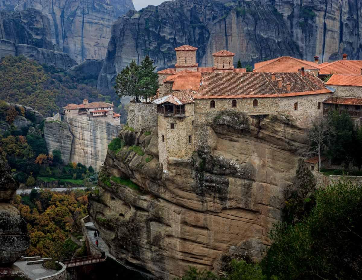 Монастырь Варлаама или Всех Святых