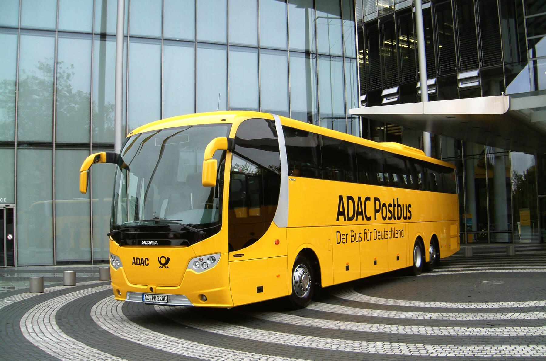 Автобус фирмы Postbus до Гента