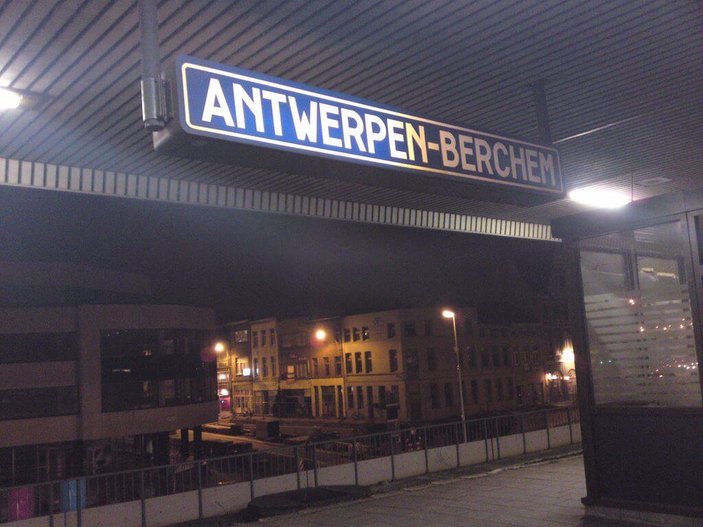 Остановка Antwerpen-Berchem