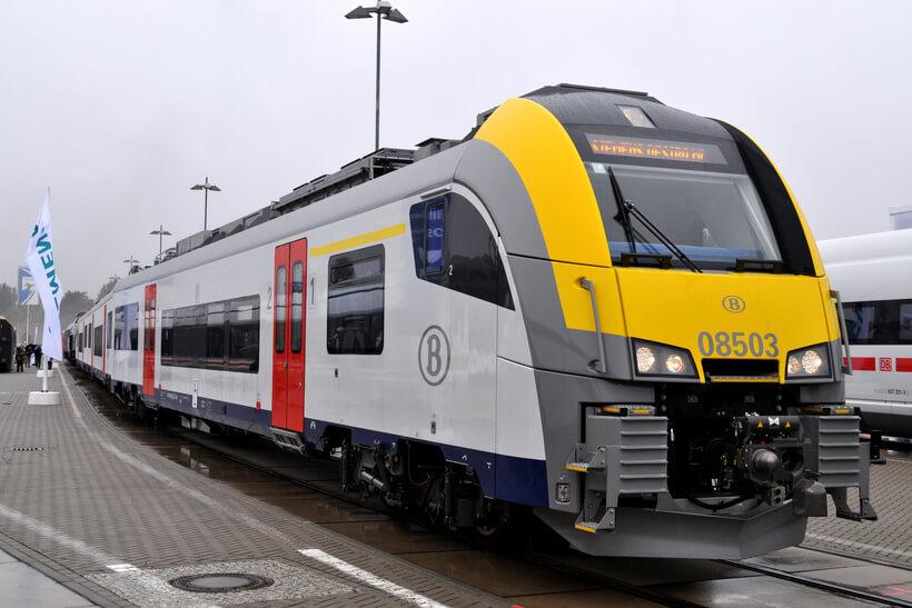 Поезд из Брюсселя