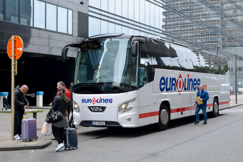 Из Брюсселя в Брюгге на автобусе