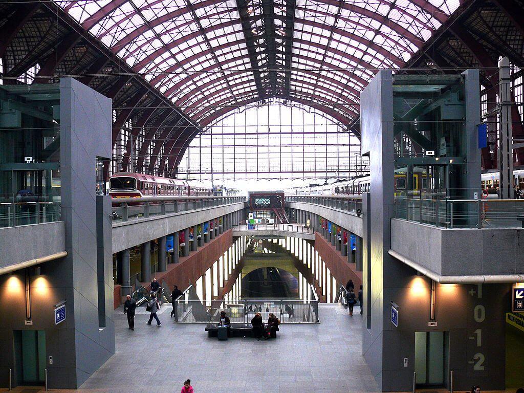 ЖД вокзал Антверпена