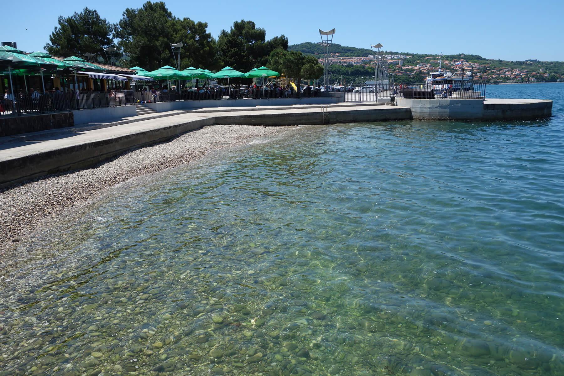 Центральный пляж Копера