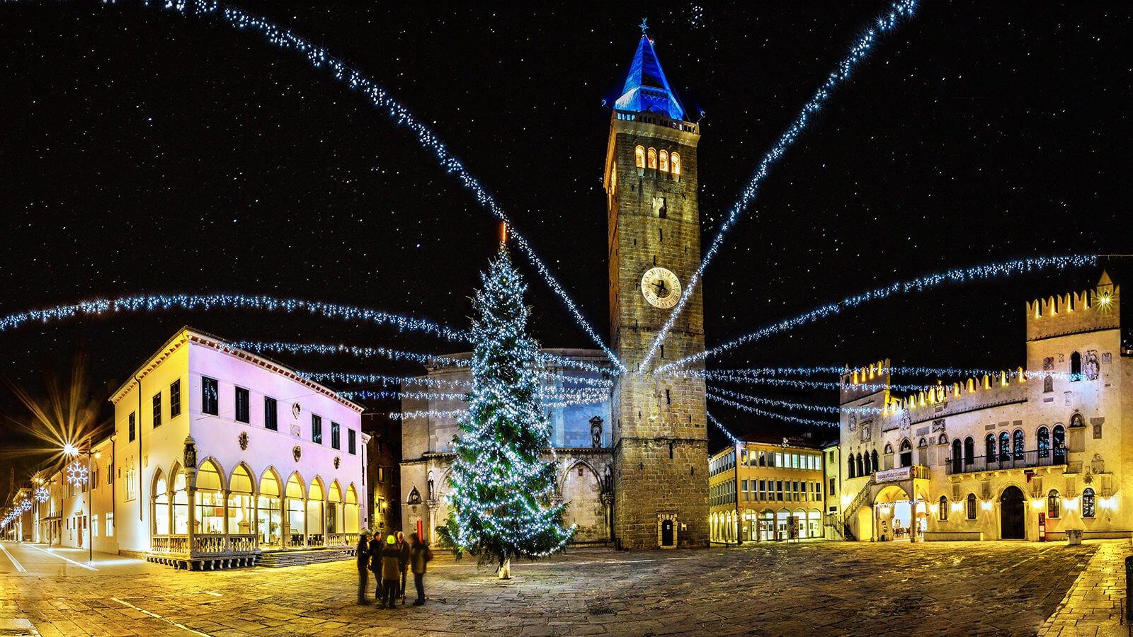 Зимой Копер, Словения