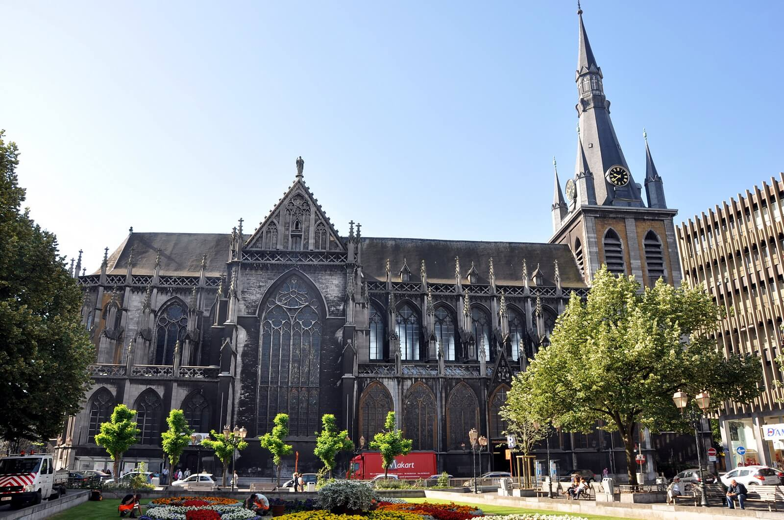 Собор Cathedral de Liege