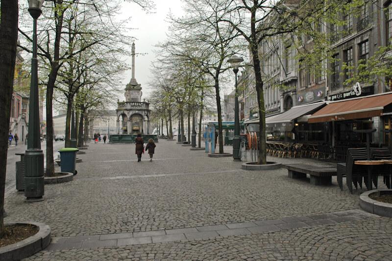 Рыночная площадь Льежа - La Place du Marche