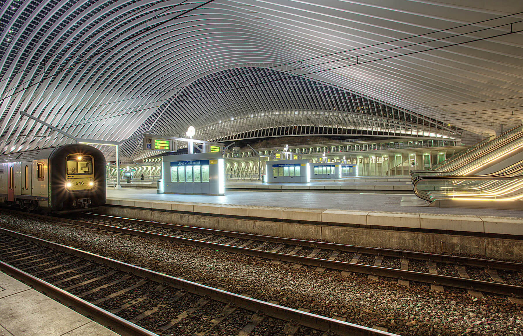 На станции Liège Guillemins