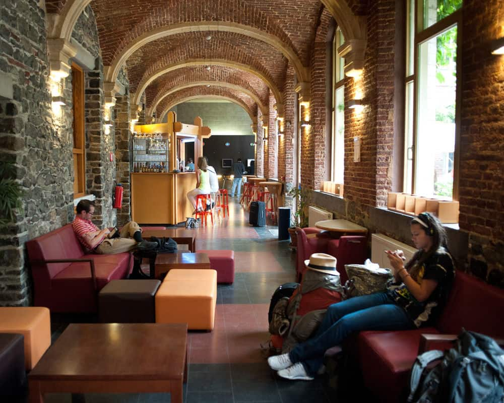 Единственный хостел города – Liège Youth Hostel
