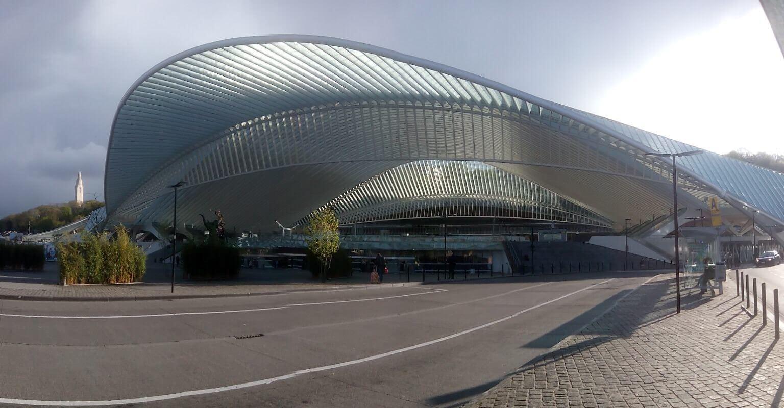 Центральный вокзал Льежа