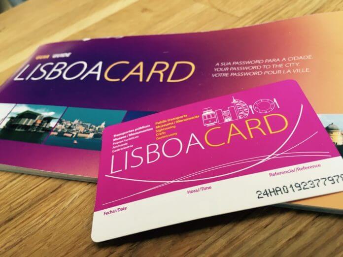 Так выглядит Lisboa Card