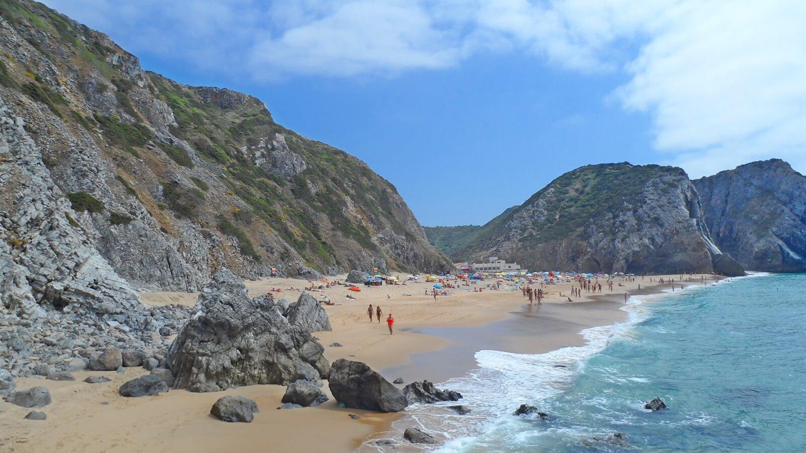 Пляж Адрага (Adraga)