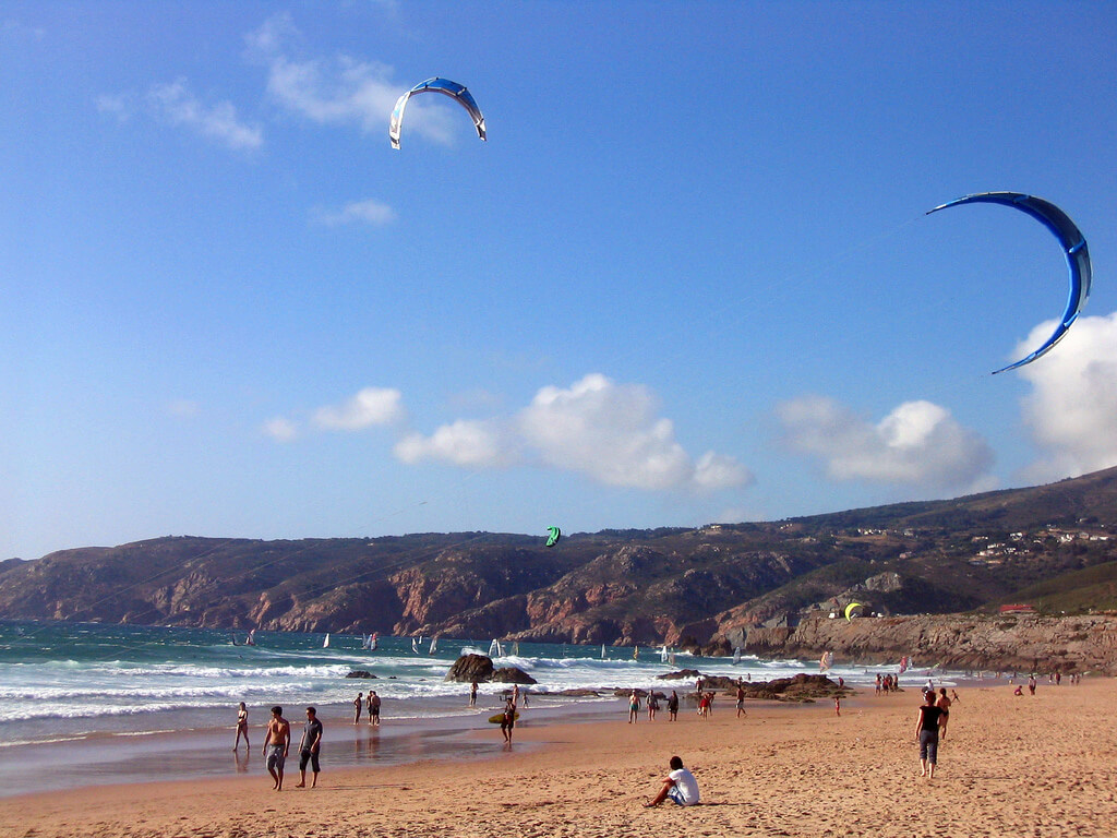 Пляж Гиншу (Guincho)