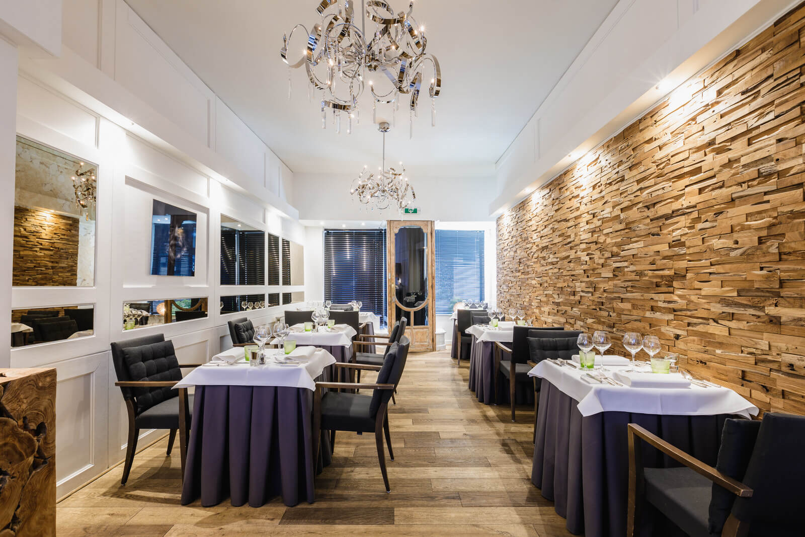 Интерьер ресторан Le Rabassier