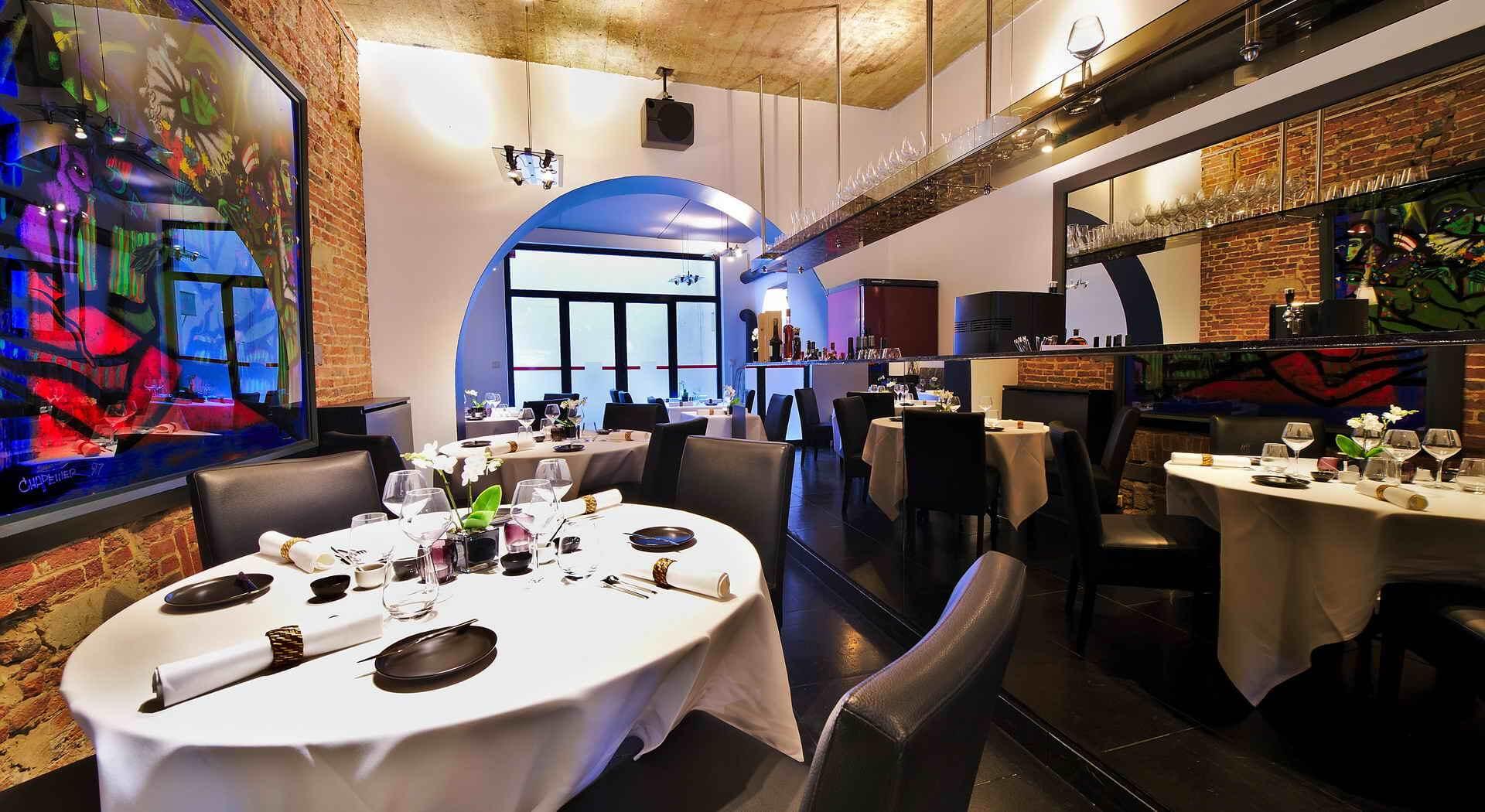 Интерьер ресторана La table de mus