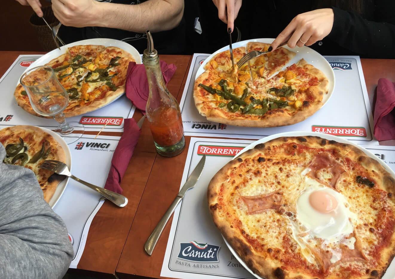 В ресторане Il Colosseo