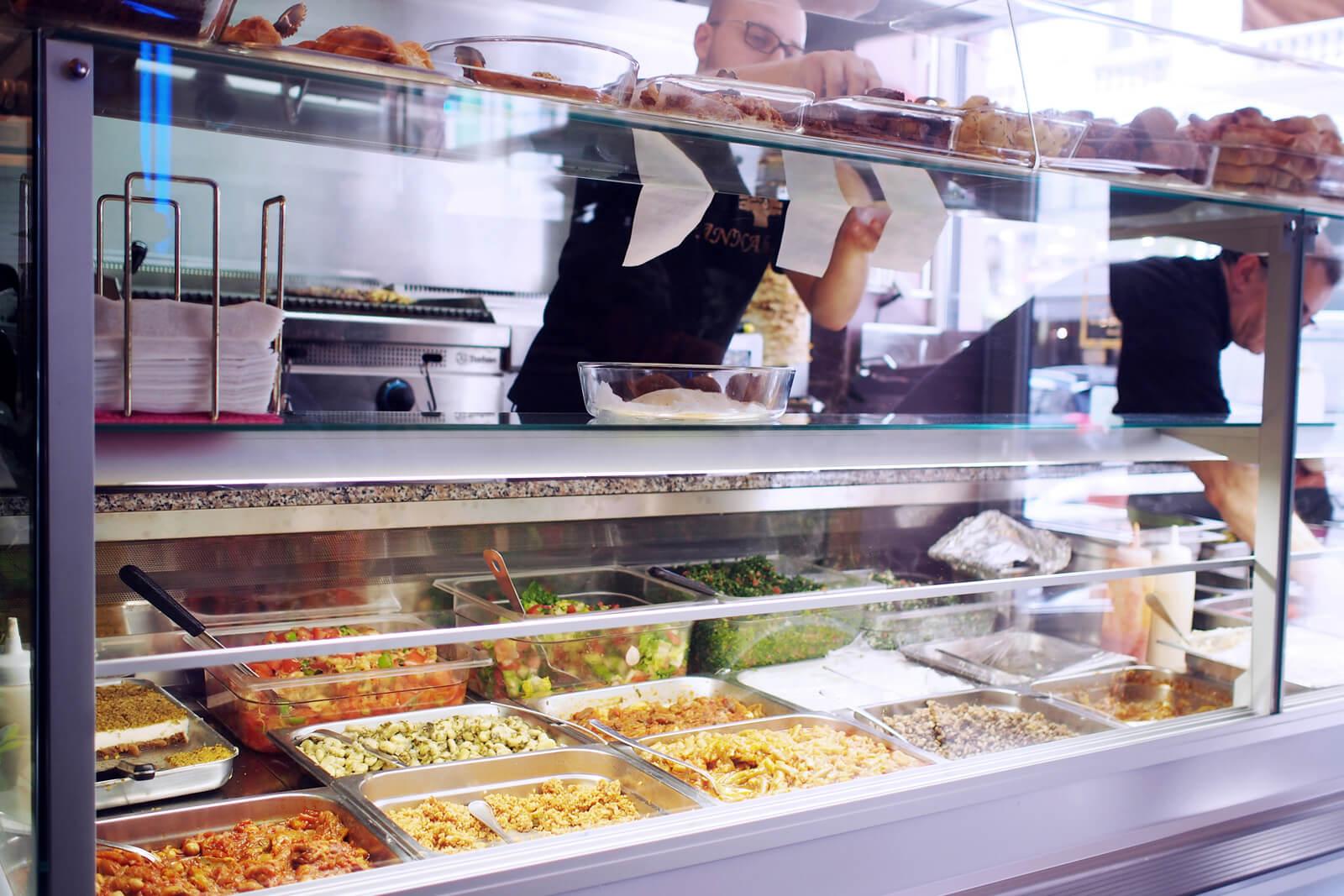 В ресторане Al Jannah