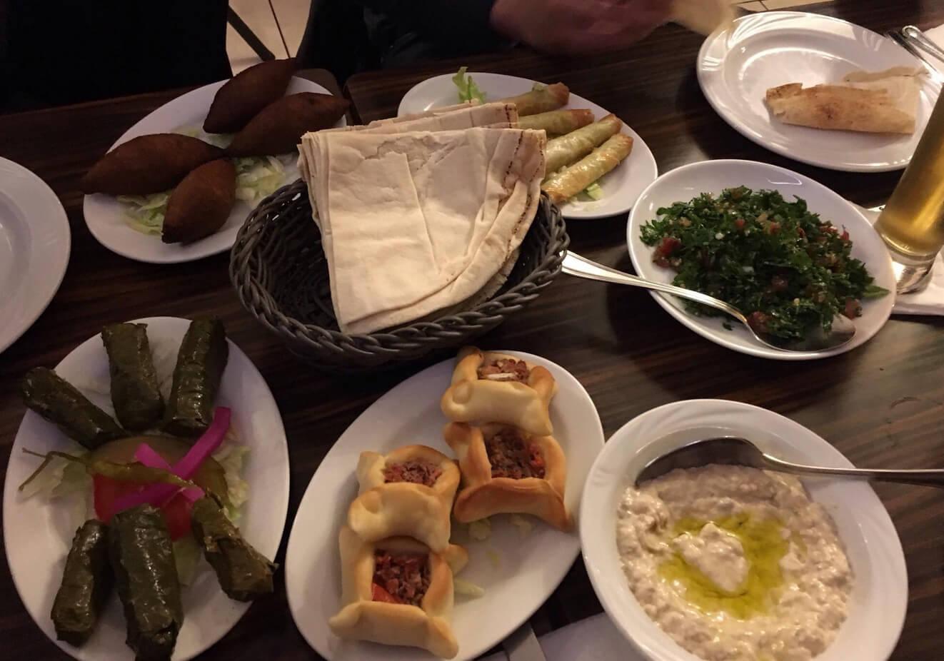 Ужин в Al Jannah