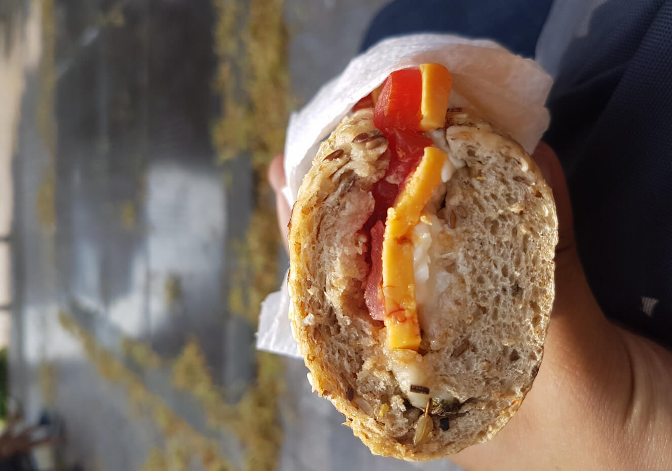 Такие сэндвичи в ресторане Tonton Garby