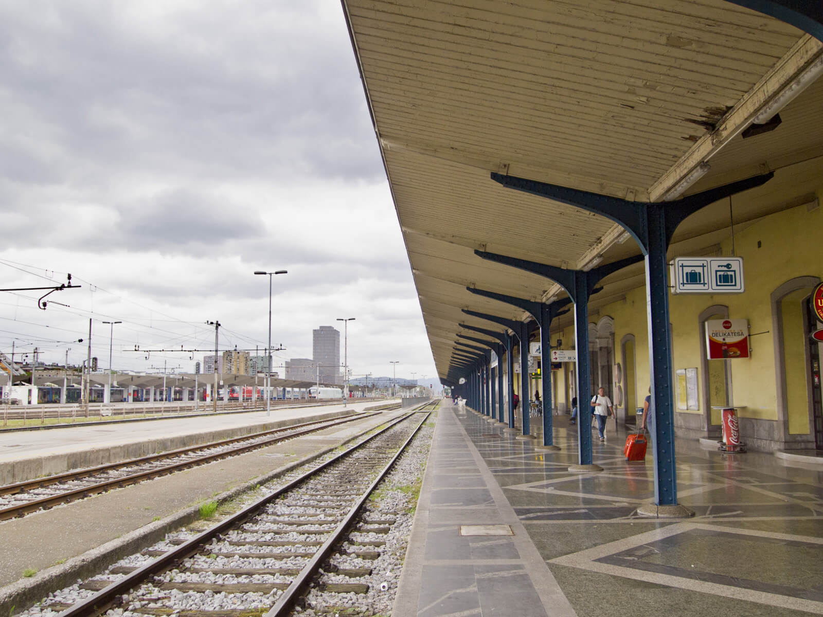 На станции Ljubljana