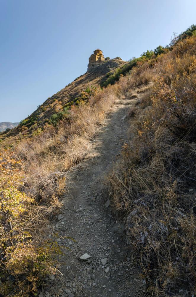 Подъем до вершины Крестовой горы
