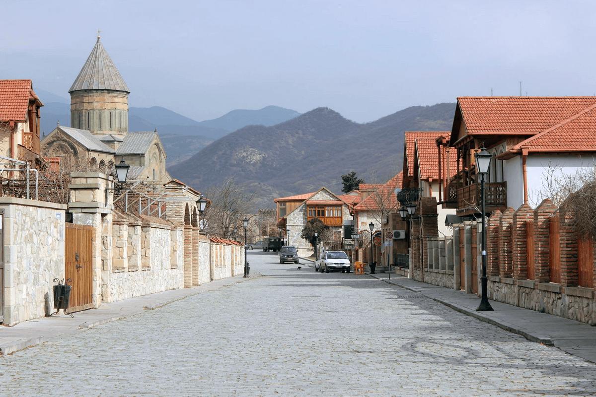 Улица города Мцхета