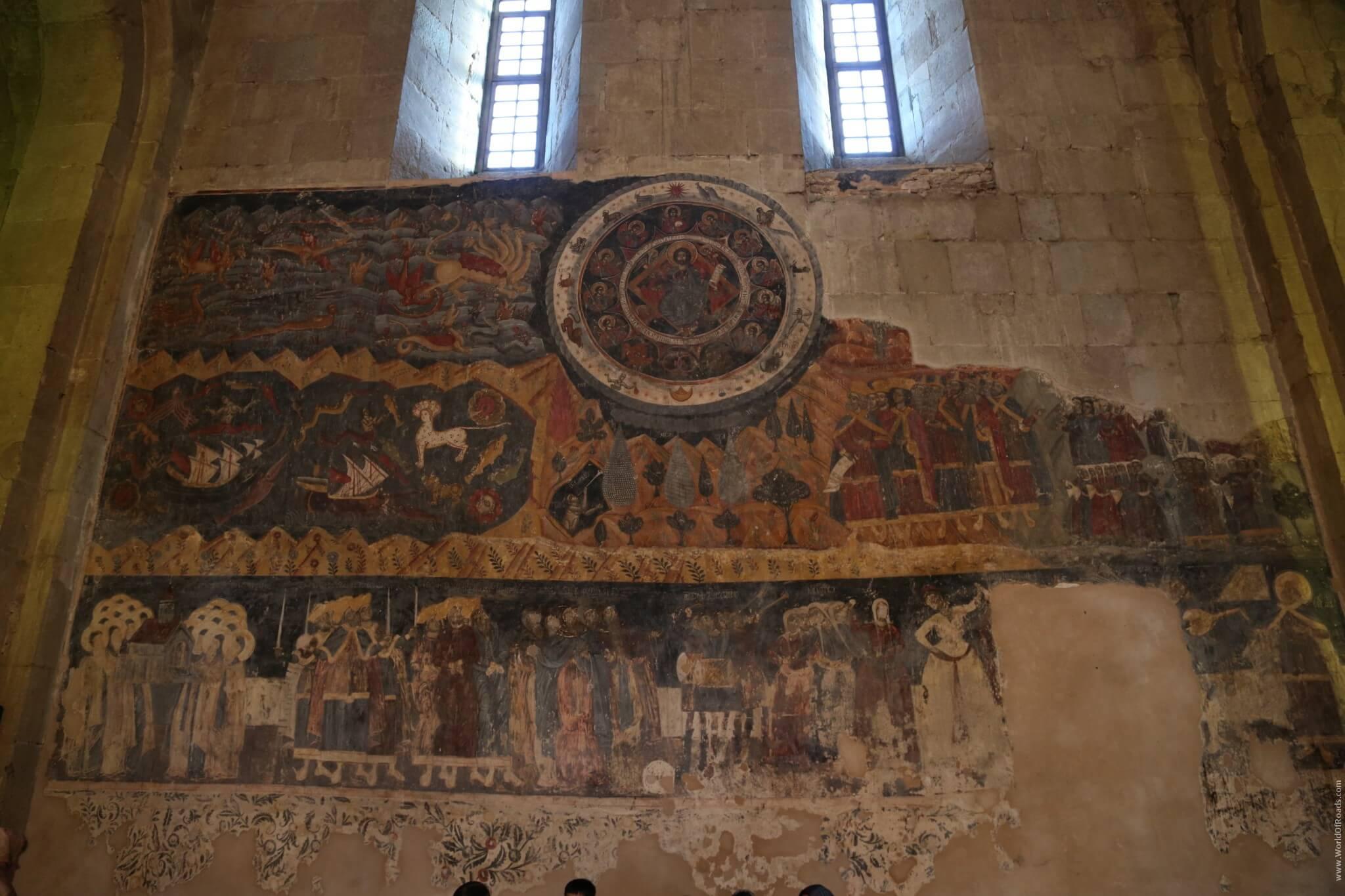 Фрески внутри Собора Светицховели