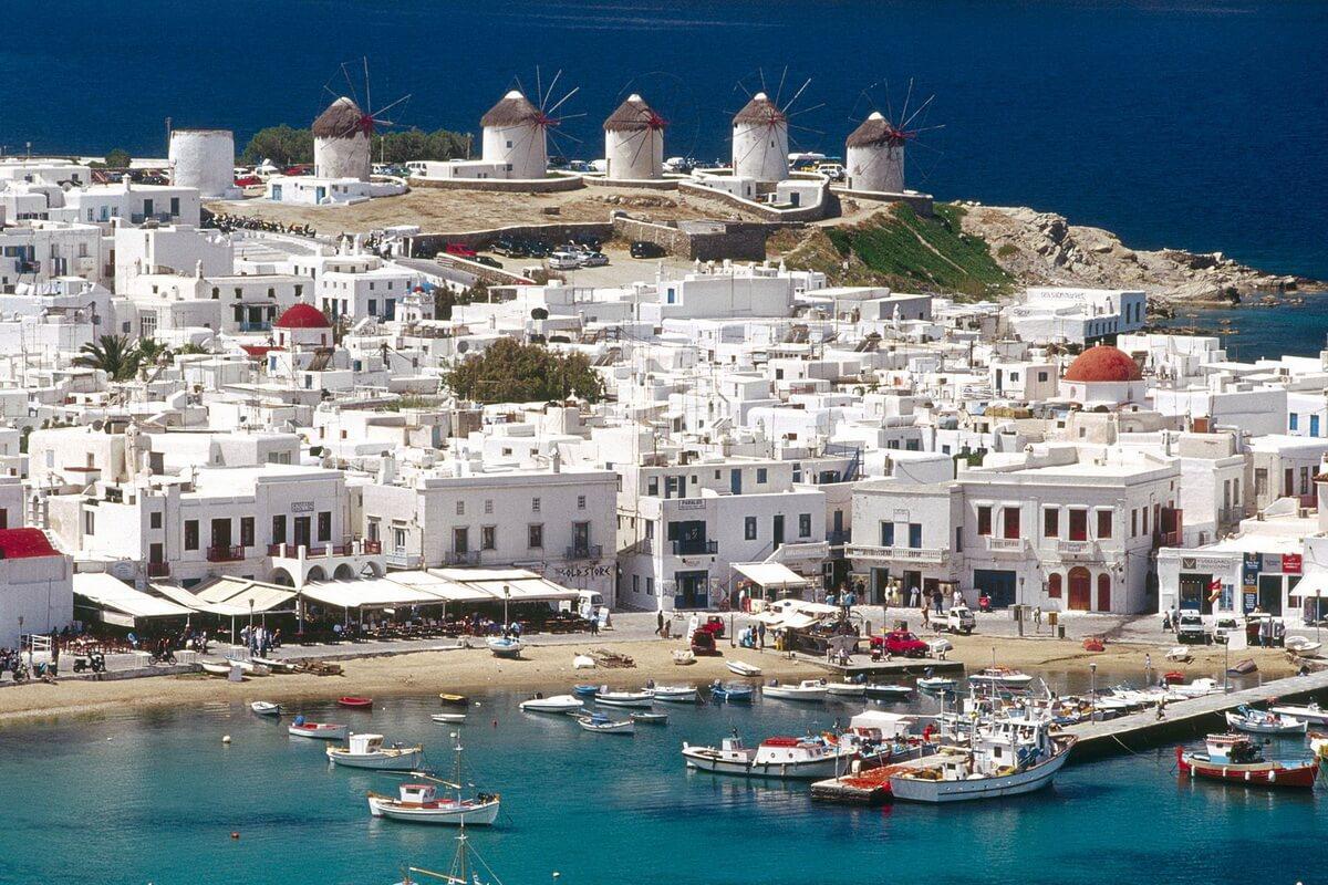Остров Миконос, Греция