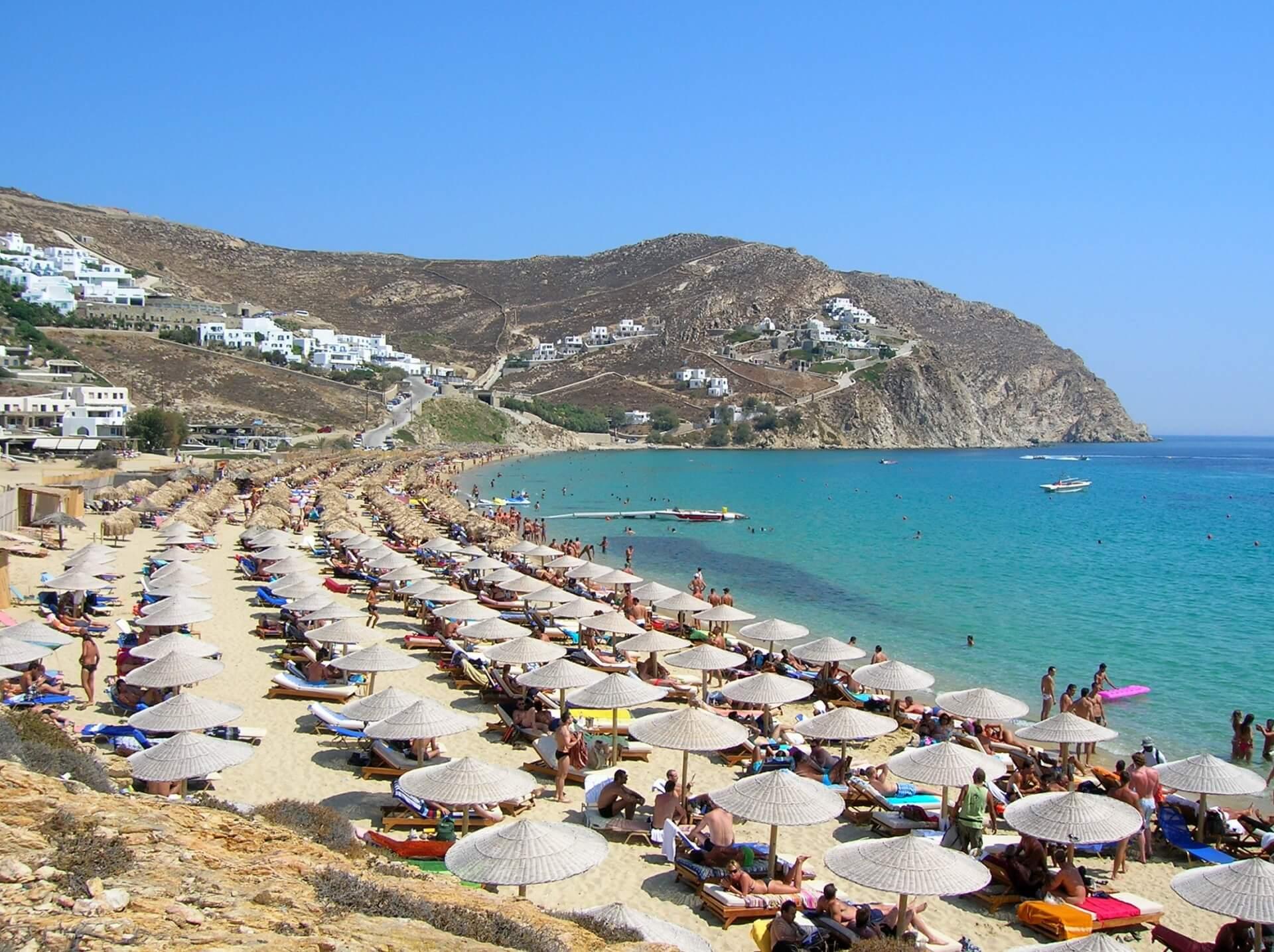Пляж Elia Beach
