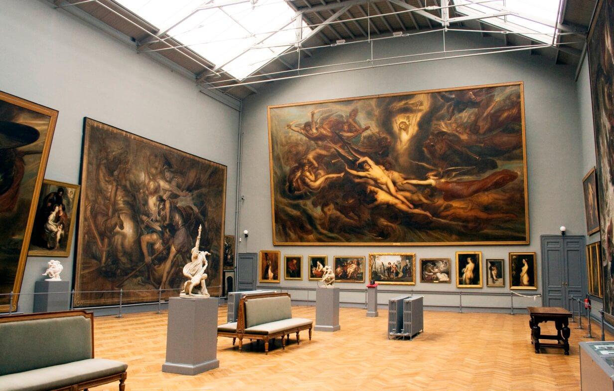 Картины в королевском музее изящных искусств