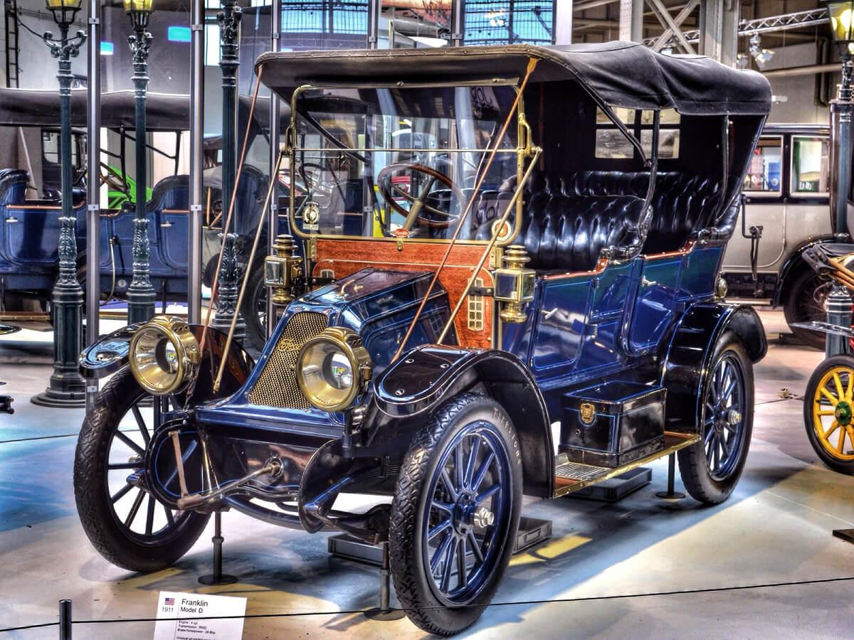Ретро автомобиль Franklin Model D 1911