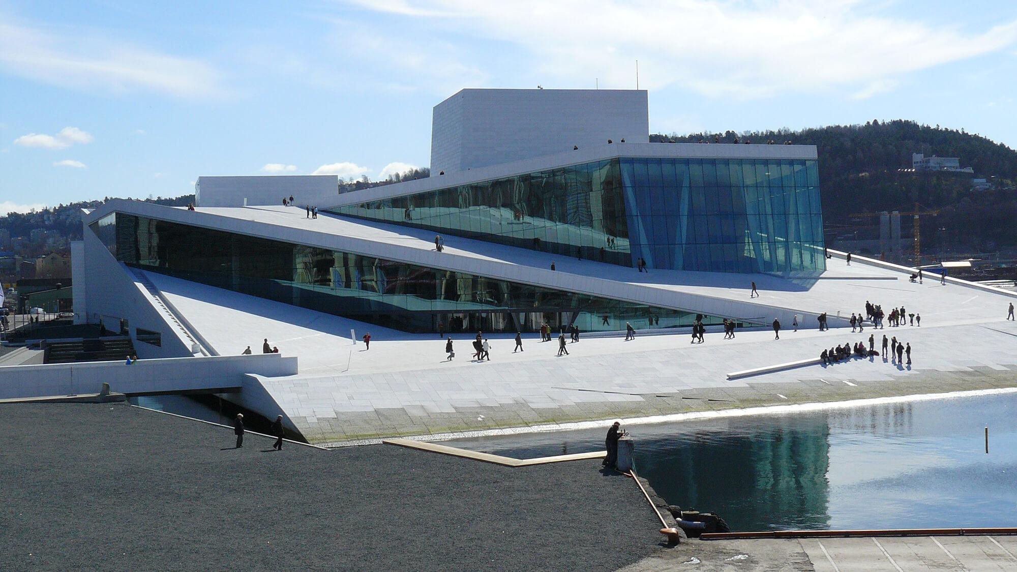 Национальный оперный театр Норвегии в Осло
