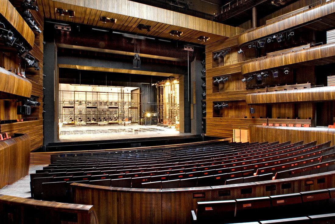 Техническое оснащение сцены в театре