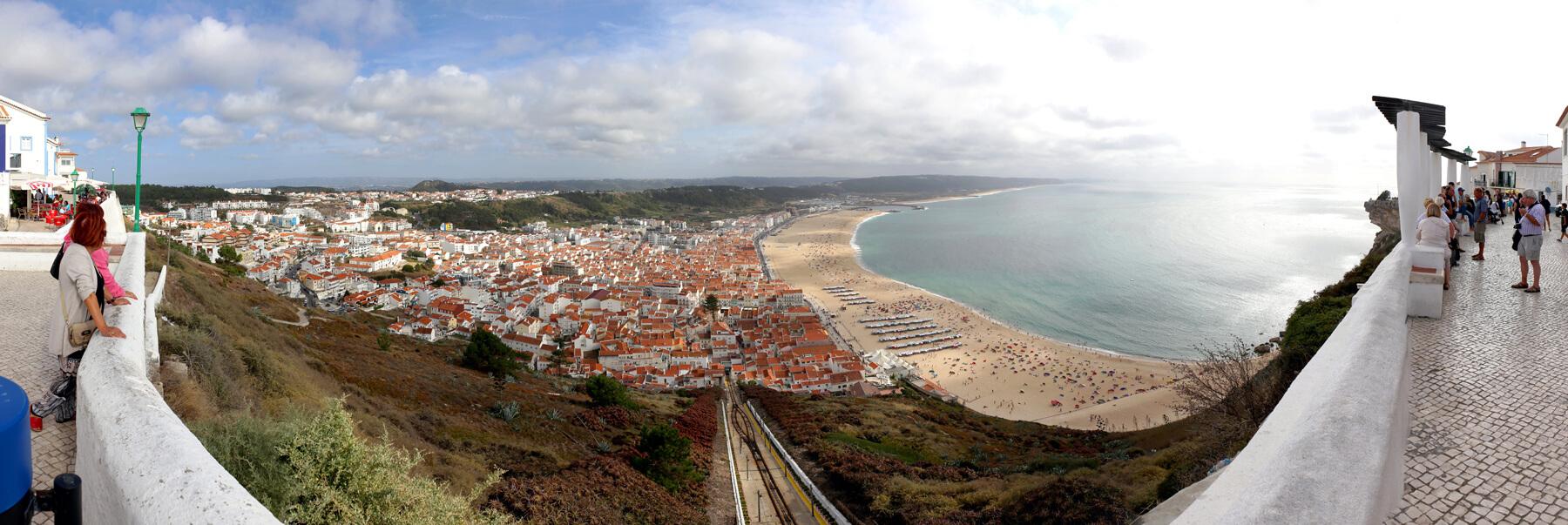 Вид с обзоной площадки Мирадору ду Суберку