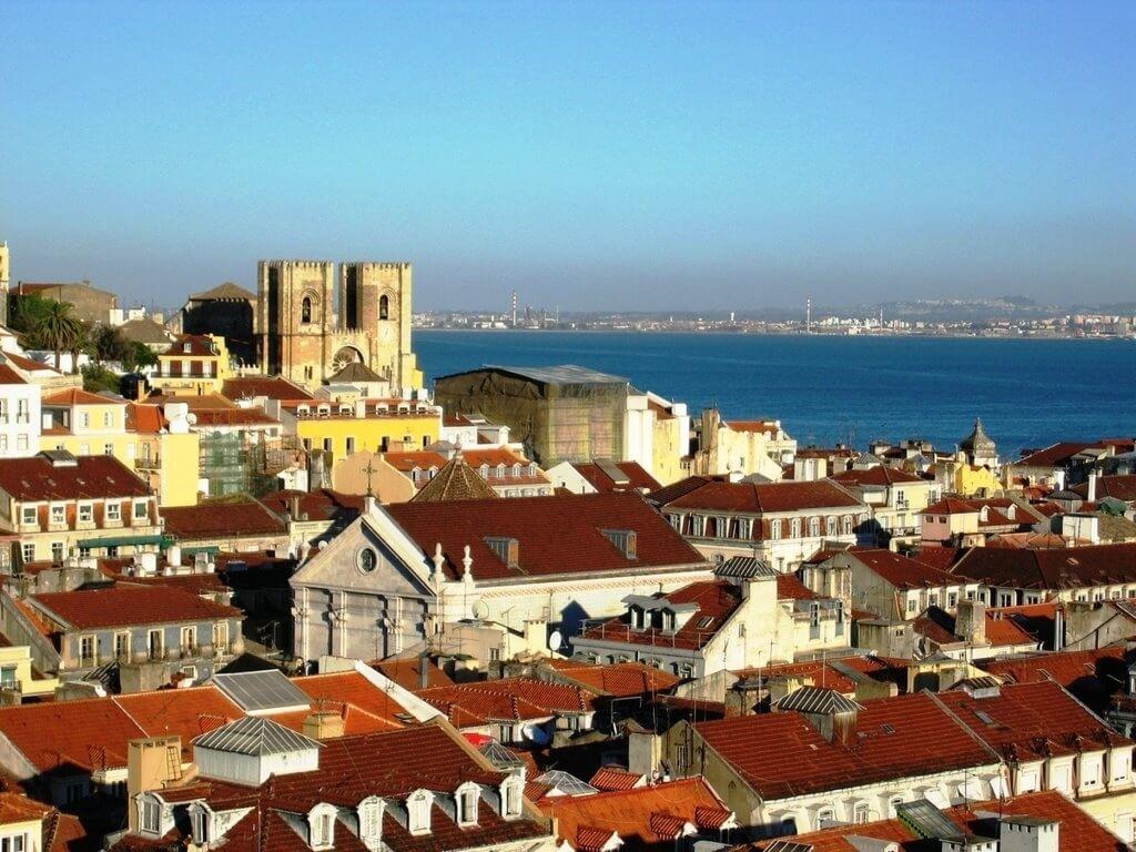 Город Назаре, Португалия