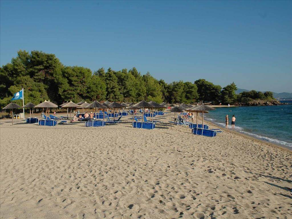 Пляж Lagomandra beach
