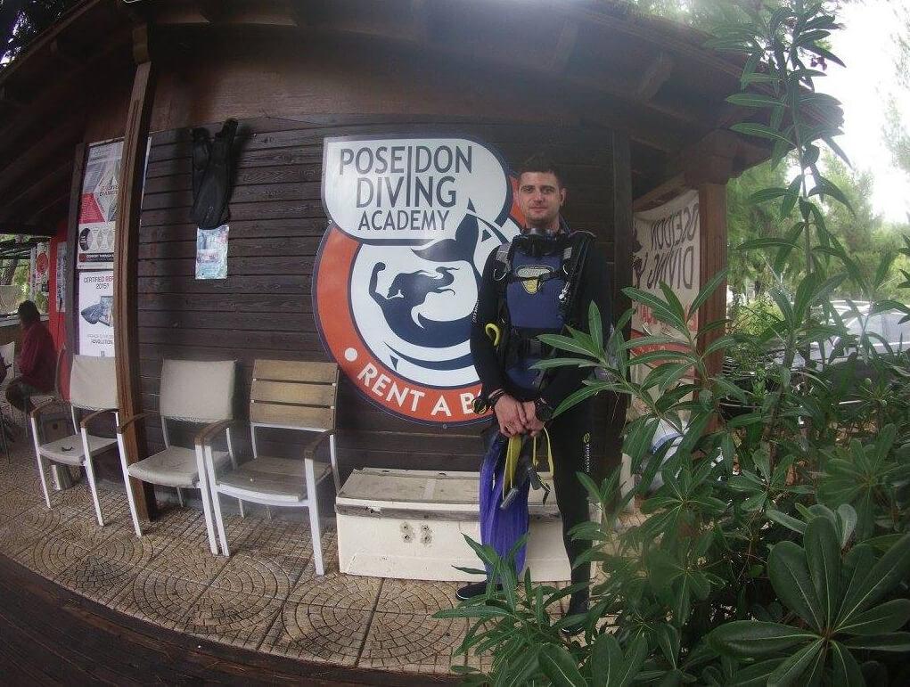Обучение дайвингу в Poseidon Diving Academy