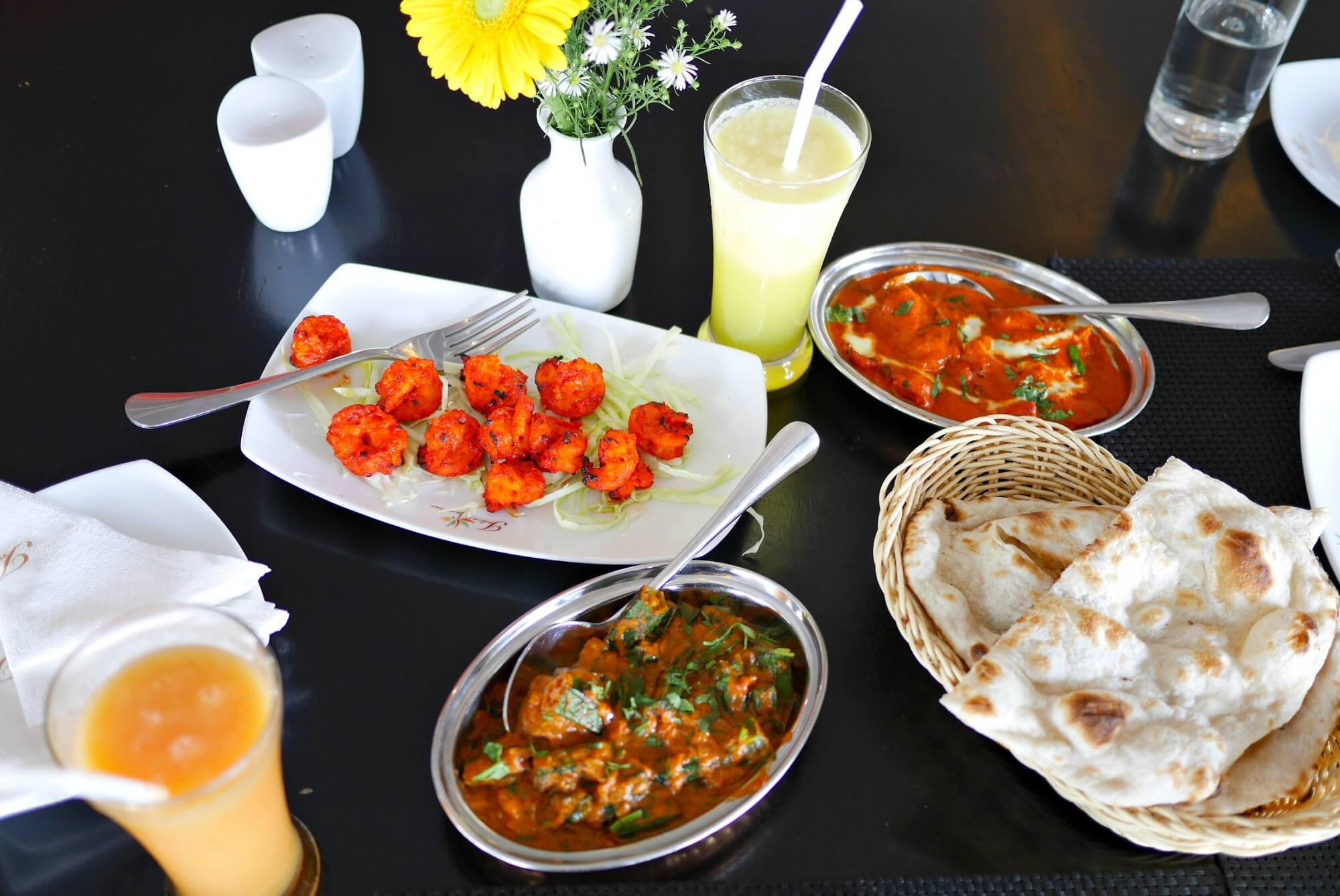Обед в ресторане Indian Summer