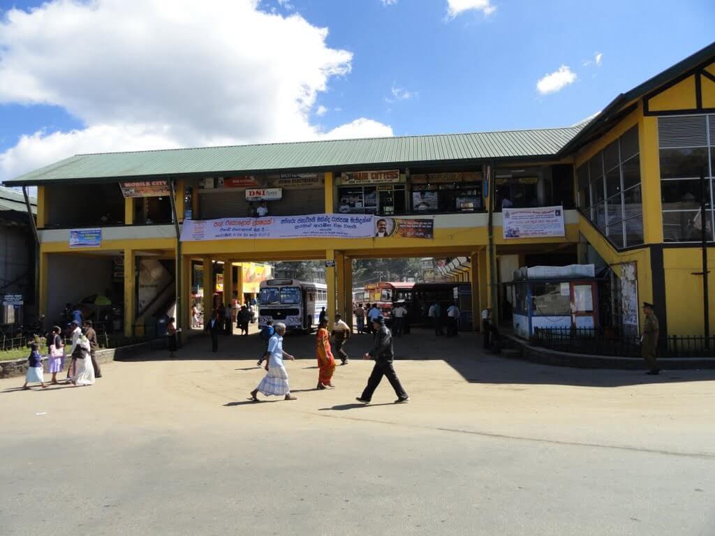 Автовокзал Нувара-Элия
