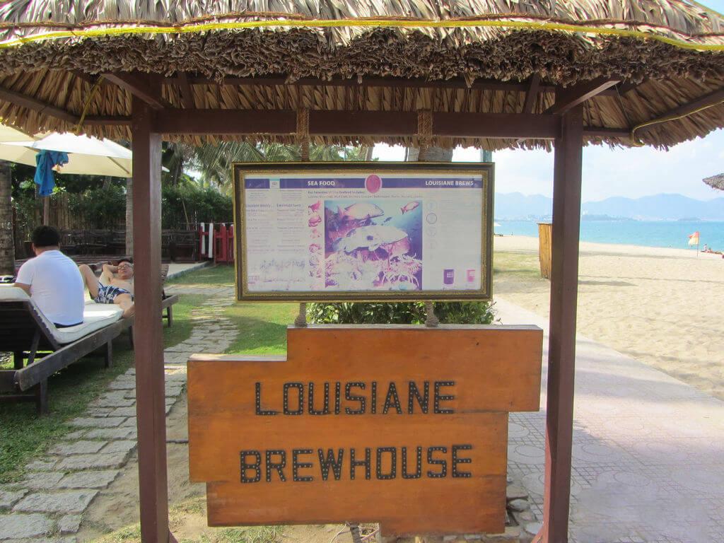 Вход в ресторан Луизиана со стороны моря