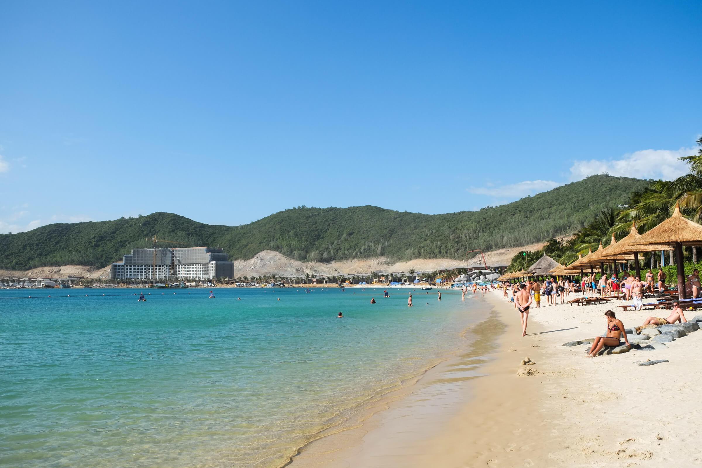 Островной пляж Винперл