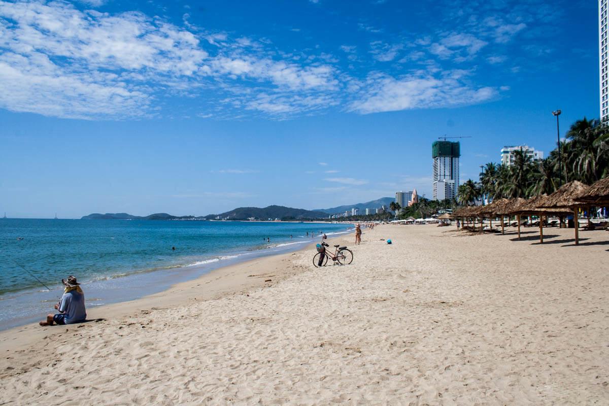 Пляж в Нячанг, Вьетнам