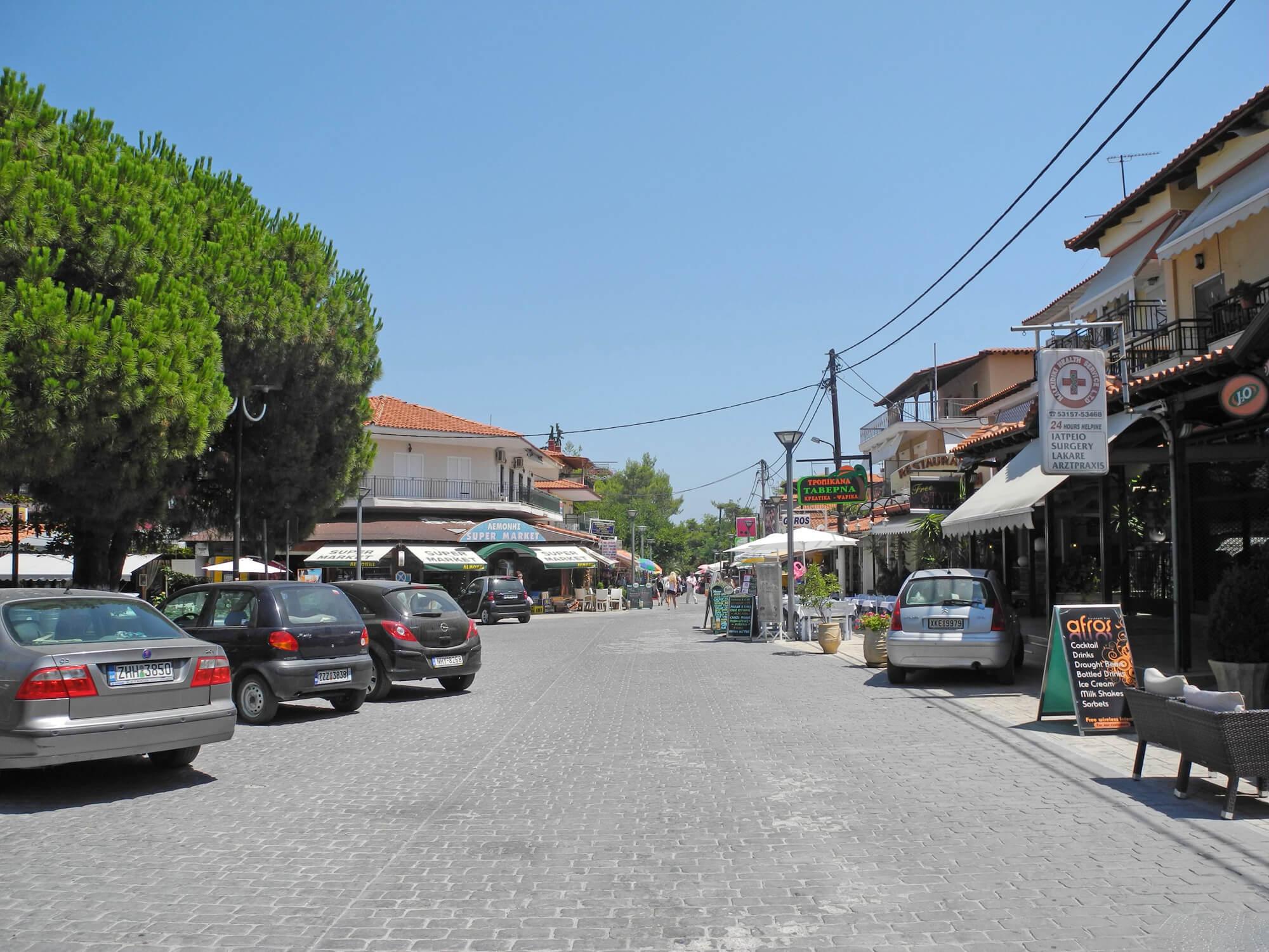 Улица в Ханиоти