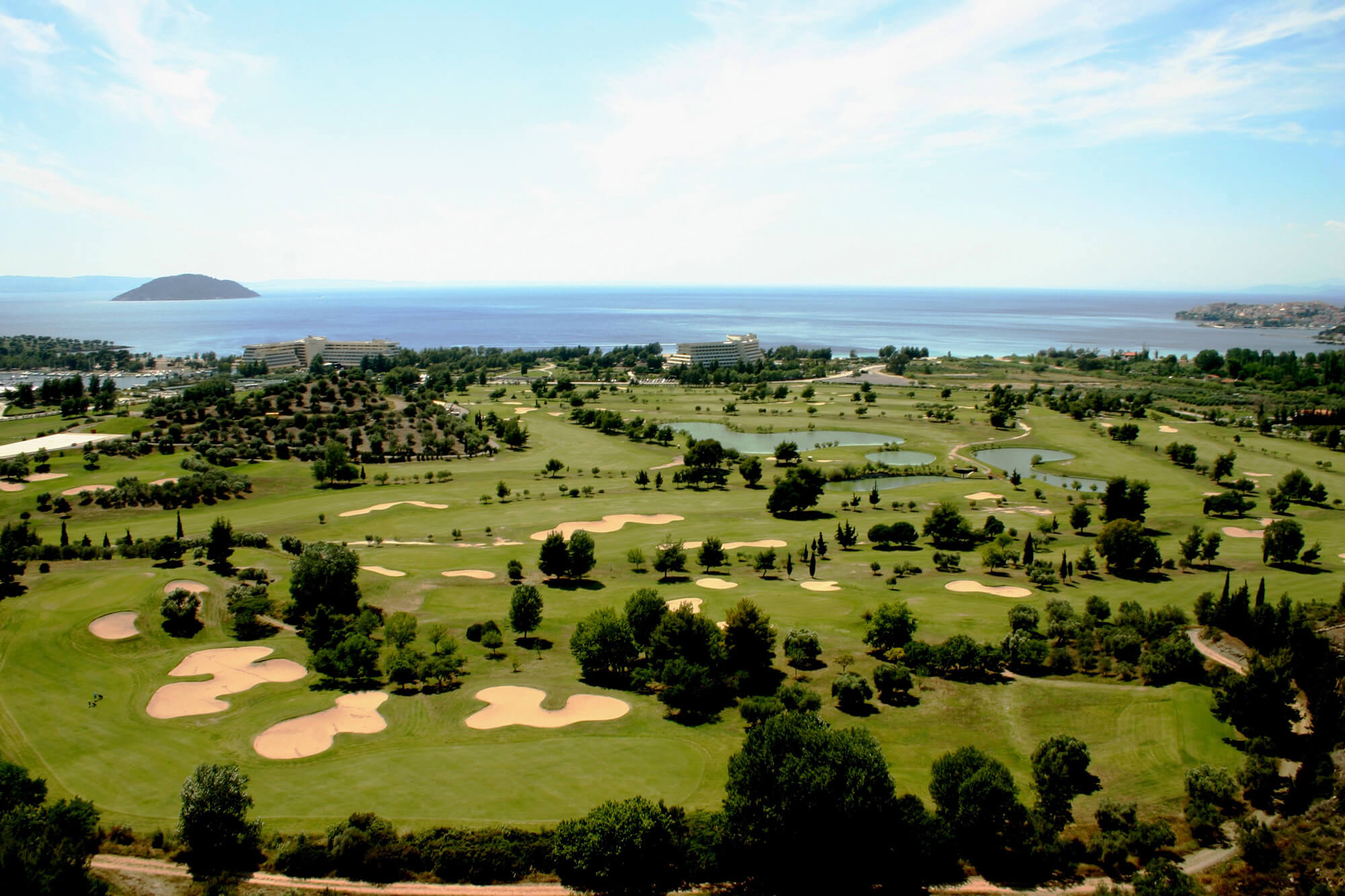 Porto Carras Golf. Халкидики