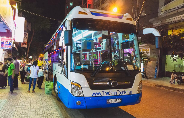 Автобус из центра города Хошимина