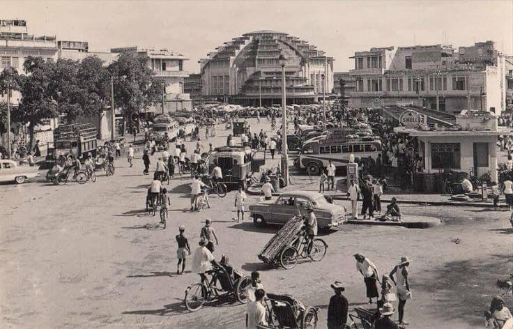 Центральный рынок в 1960 году