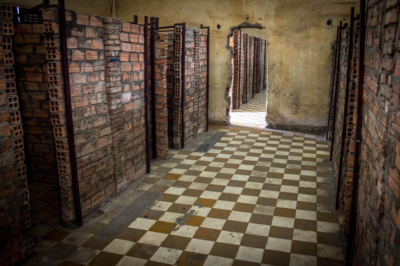 Камеры тюрьмы безопасности 21