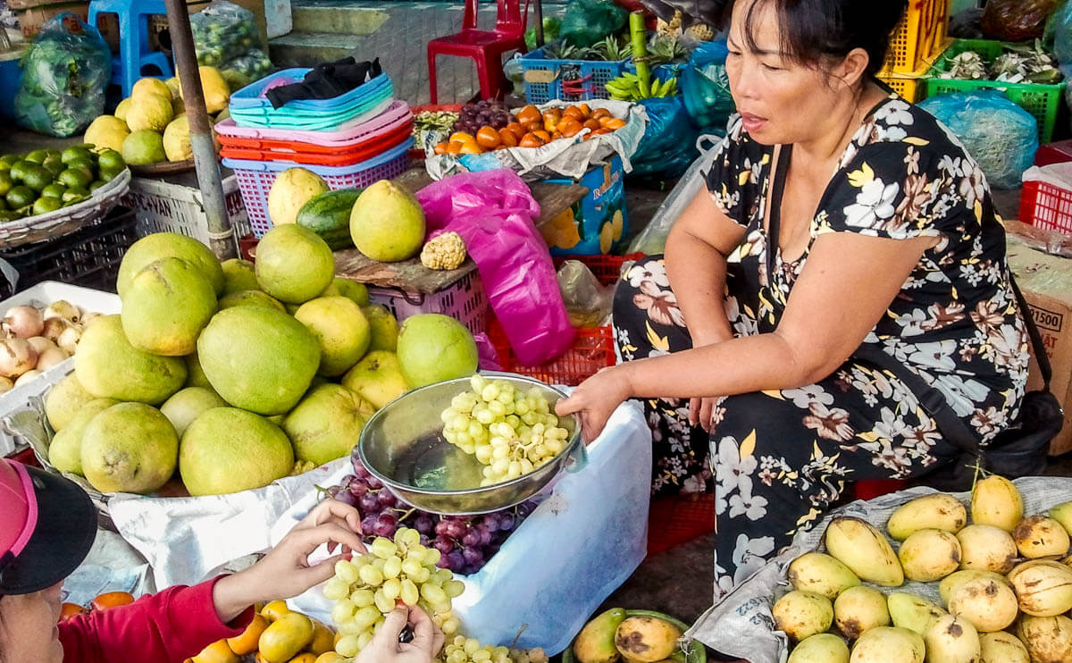 Торговались на рынке в Нячанге