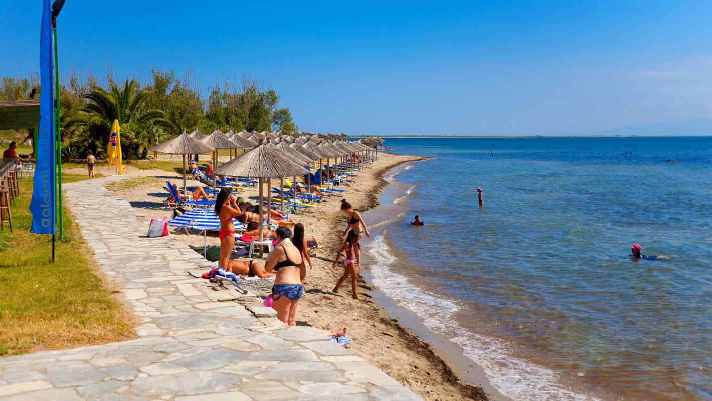 Пляж Эпаноми