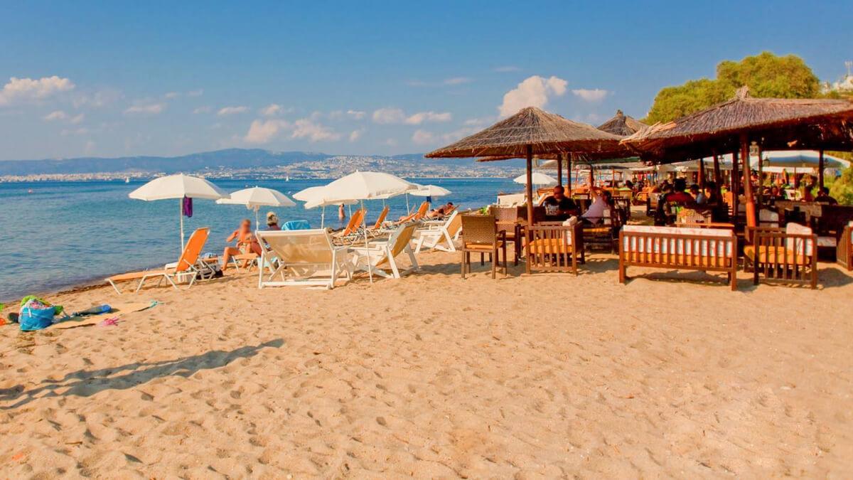 На пляже Переа