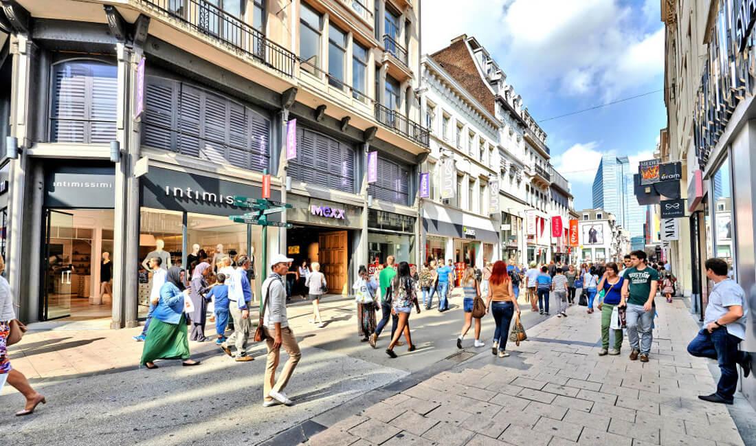 Магазины Rue Neuve
